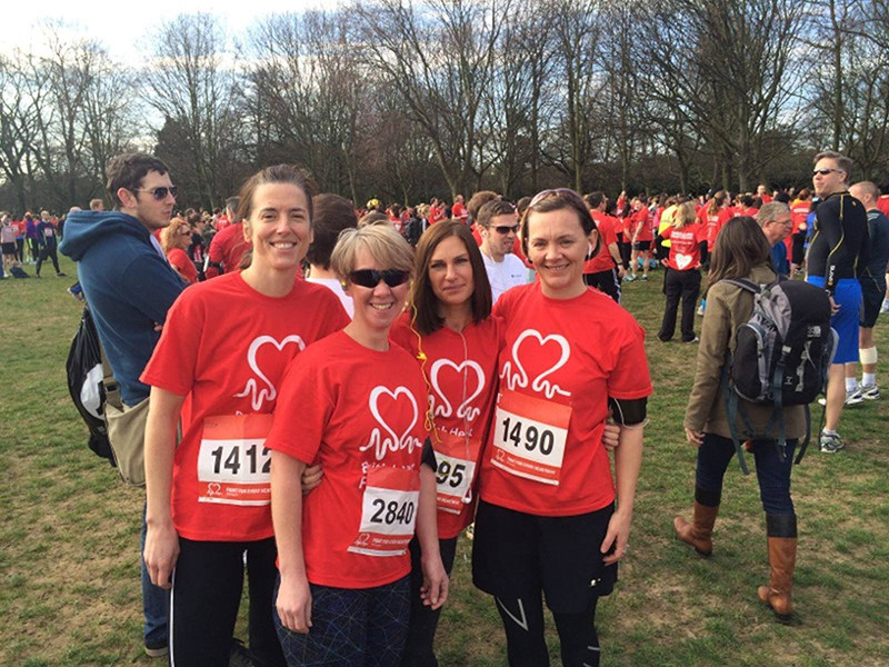 Pegasus Military Fitness - Siobhan Rayner - British Heart Foundation Regents Par