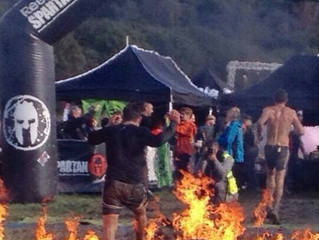 Jay Martin & Dave Shutler at Spartan Beast South London 20km+