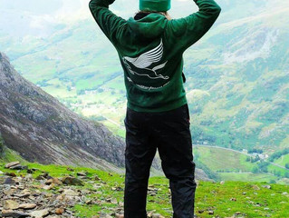Pegasus Kit In A Cool Location: Nicky Bamber, Mount Snowdon