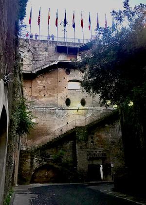 Escaleras a Sorrento