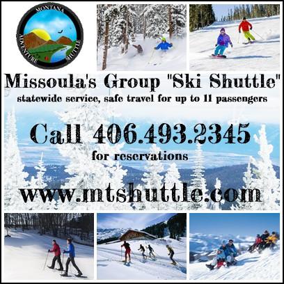 Missoula's new ski shuttle!