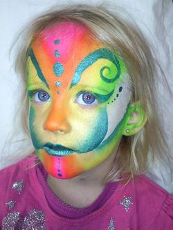 Cirque De Soleil+Face+Painting