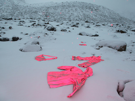Clothes On Snow
