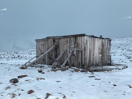 Cabin, Grey Sky