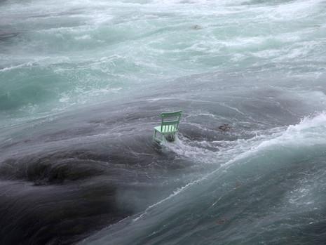 The Green Chair (swells after hurricane Gert)