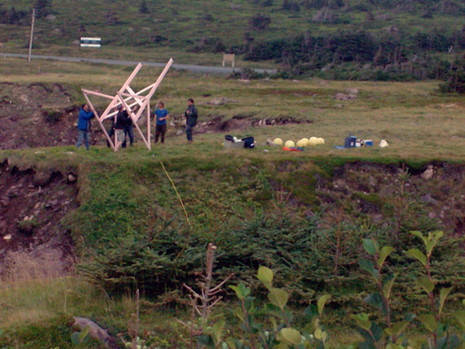 Cape Spear Video Shoot Preparation