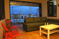 Living room with Balcony Open Luna