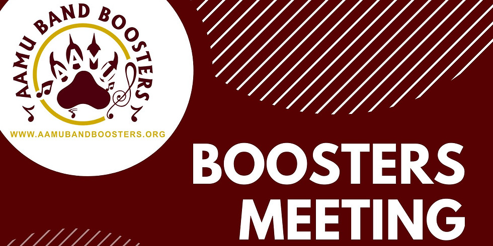 AAMU Band Boosters Meeting