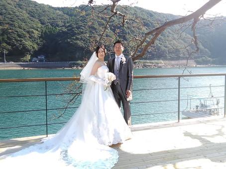 念願の崎津Wedding