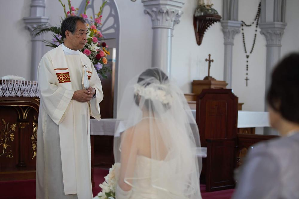 崎津天主堂結婚式