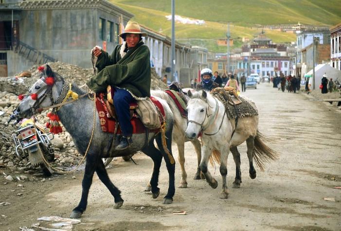 Tibetan businessman