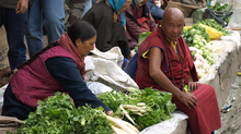 Food Shopping In Tibet