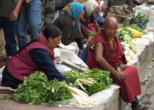 Food Shopping In Tibet