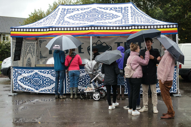 The Rain: England vs Tibet