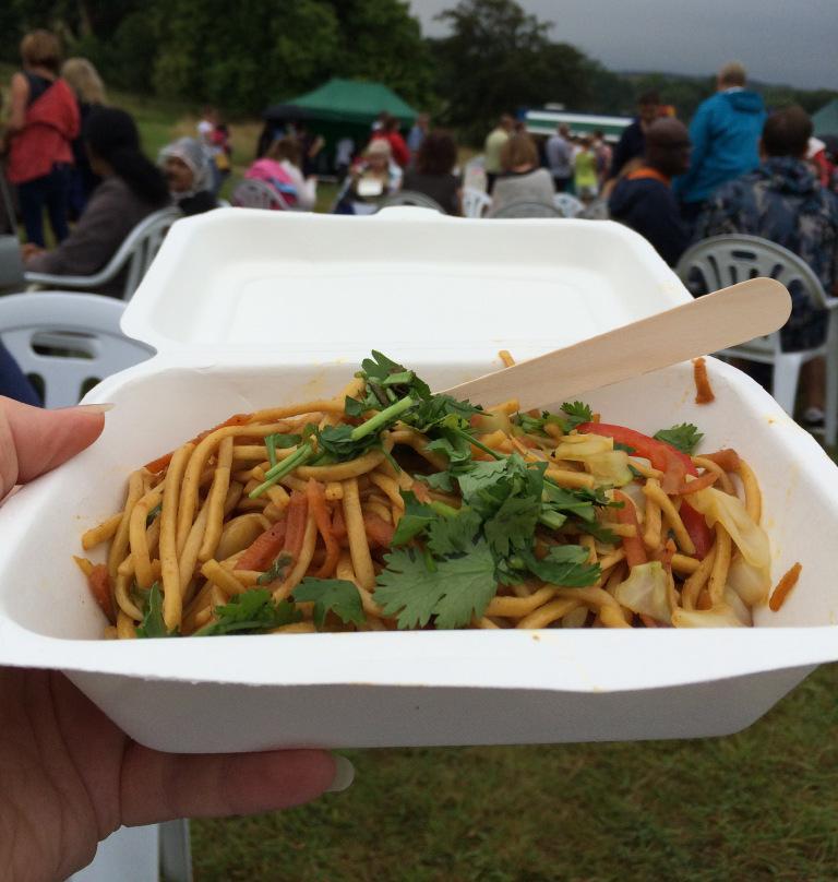 Tibetan thukpa noodles