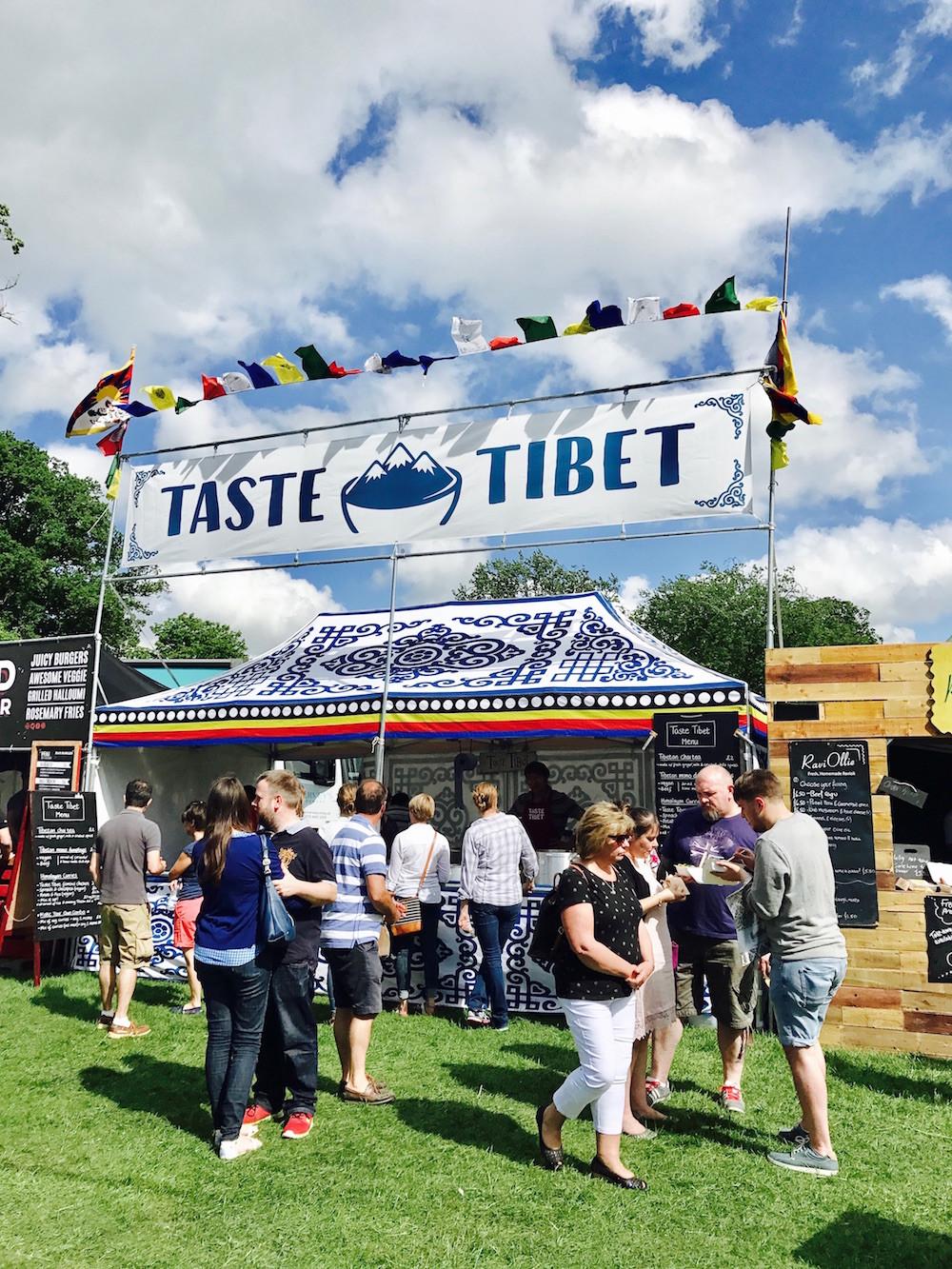 Taste Tibet Festival Tent