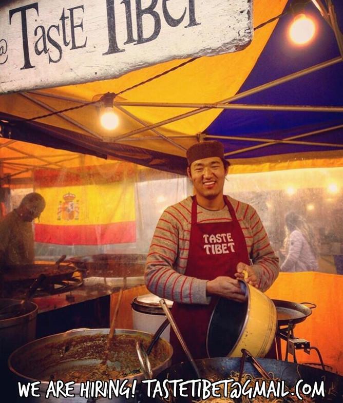 Taste Tibet is hiring!