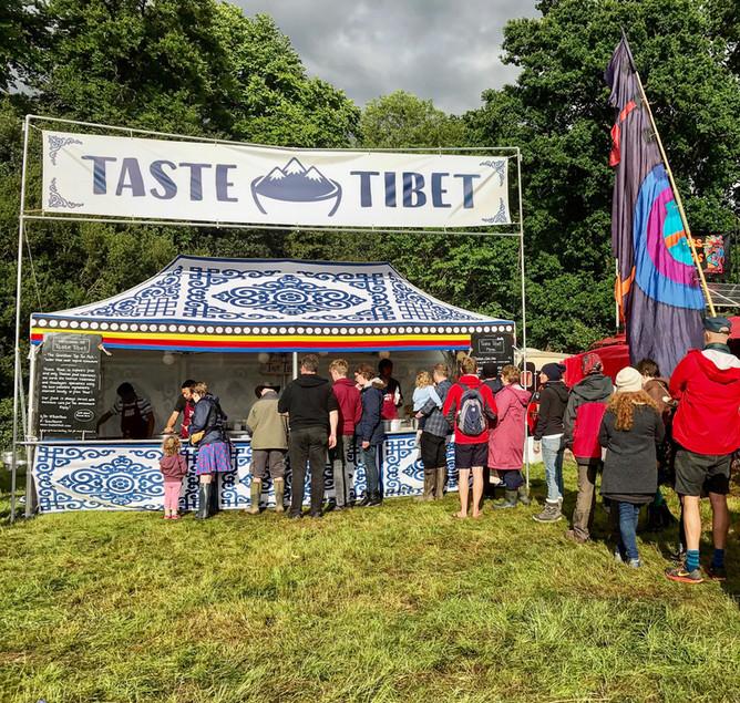 Taste Tibet Hits Blenheim Palace