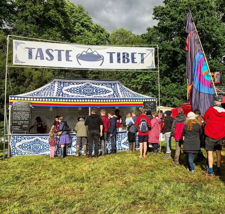 Taste Tibet Hits Blenheim Palace
