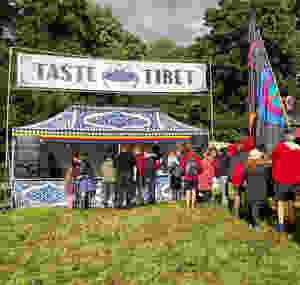 Taste Tibet at Wood Festival