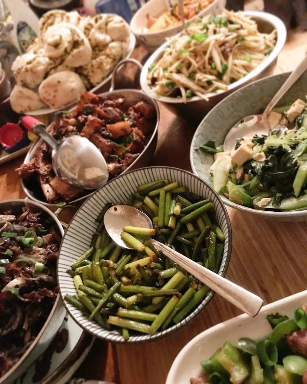 Tibetan dinner