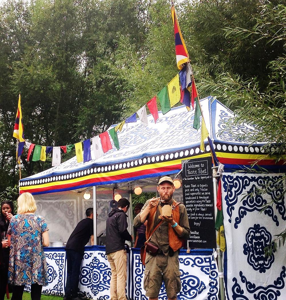 Taste Tibet at the Rabbit Hole Music Festival 2016
