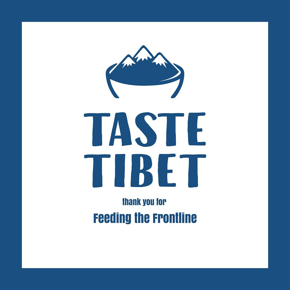 Taste Tibet - Feeding the Frontline