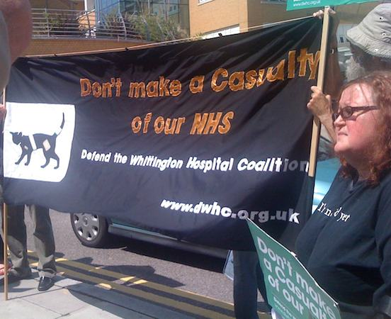 Dont Make a Casualty of our NHS