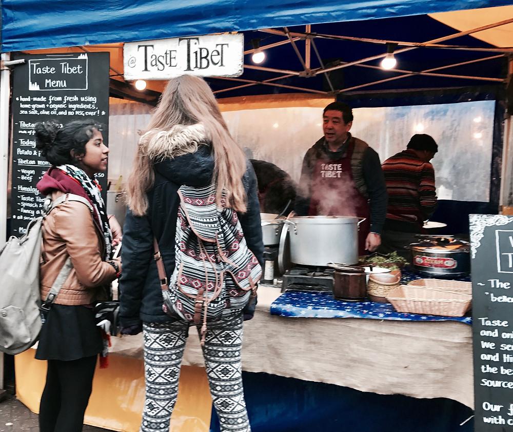Taste Tibet at Gloucester Green
