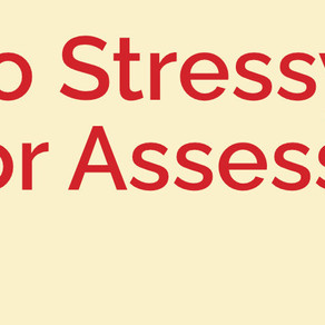 The Very Basics of Assessments