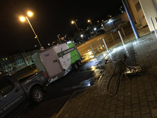 Manchester retail park cleaning