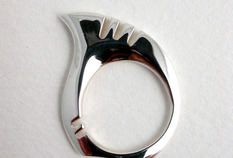 Venice ring silver