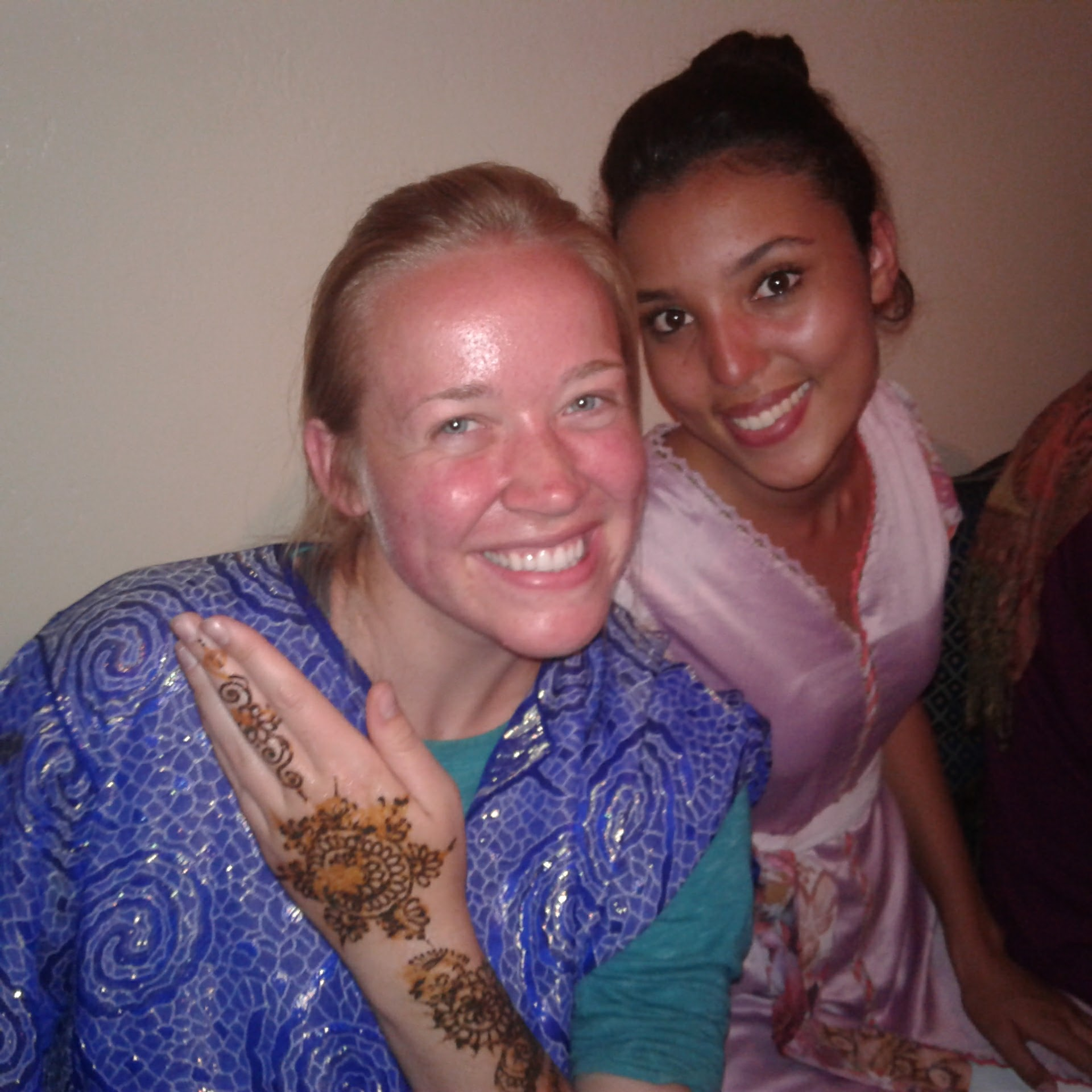Henna and host sisters