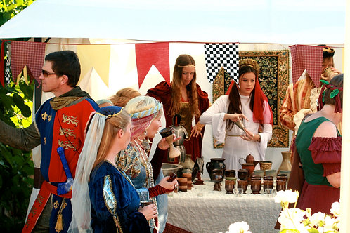 Medieval Goblets and Tankards
