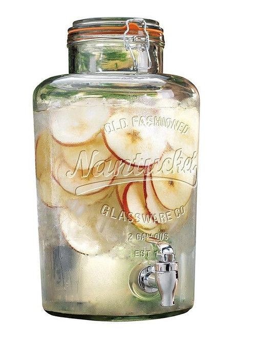 9lt Glass Drink Dispenser