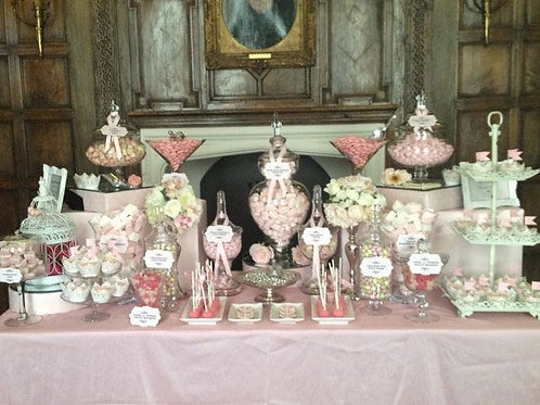 Candy Buffet Set of 12 Apothecary Jars