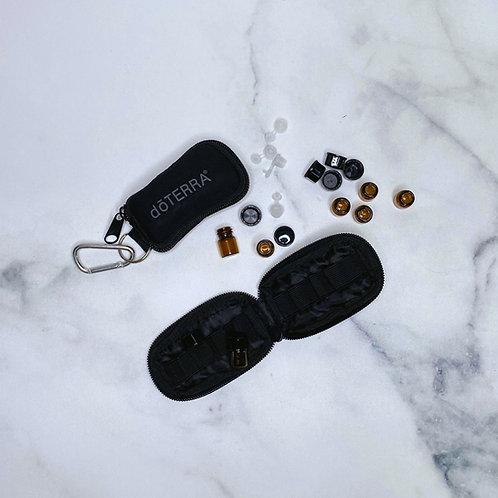 12 étuis porte-clés avec bouteilles