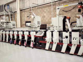 Llega una nueva máquina de impresión a Etipress