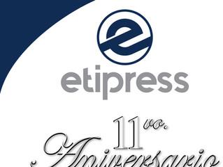Etipress cumple 11 años