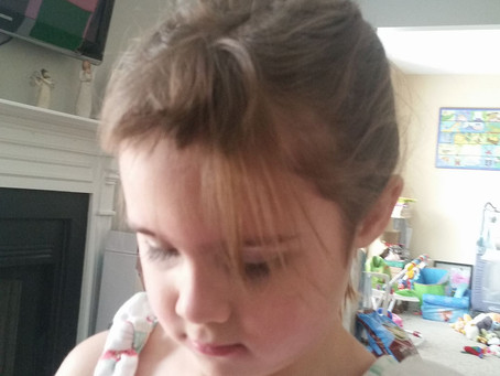 My kid cut her hair! 5 reasons why this is a good thing.