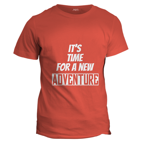 IT'S TIME FOR A NEW ADVENTURE  - Half Sleeve T-Shirt