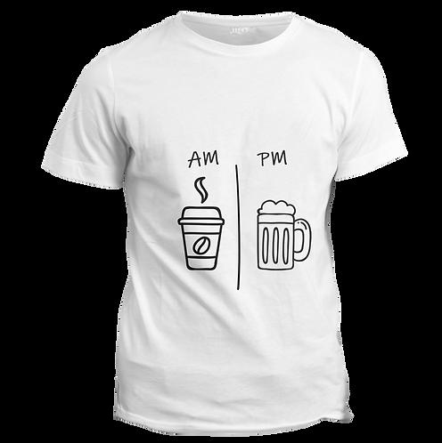 AM PM  - Half Sleeve T-Shirt