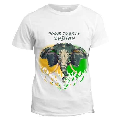 PROUD TO BE AN INDIAN - Half Sleeve T-Shirt