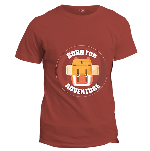 BORN FOR ADVENTURE - Half Sleeve T-Shirt