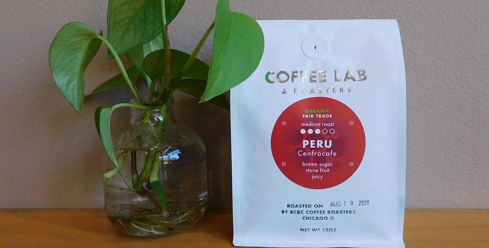 Organic Peruvian Medium Roast 12 oz bag
