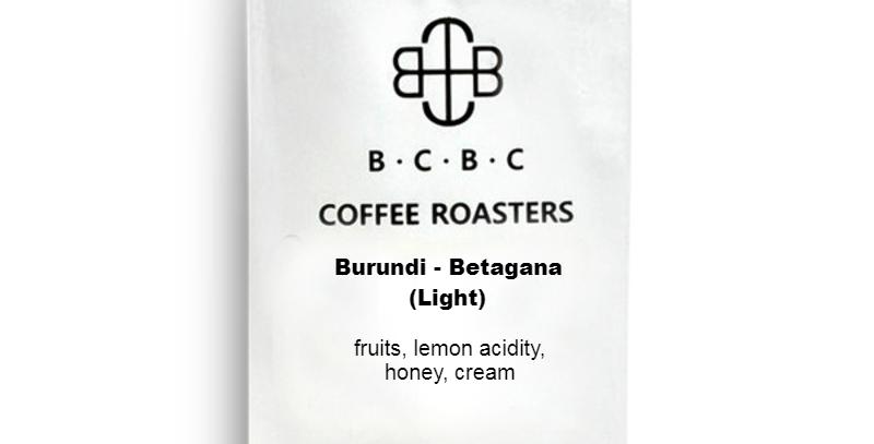 Burundi - Butegana (Light Roast) 12 oz Bag