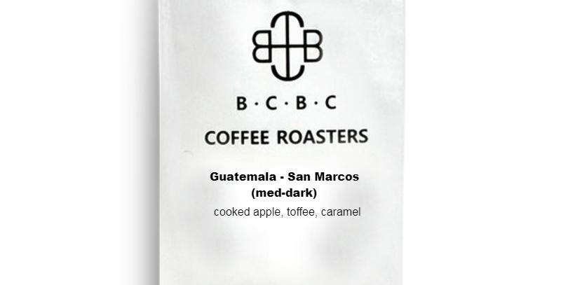 Guatemala - San Marcos (Med-Dark) 12 oz bag