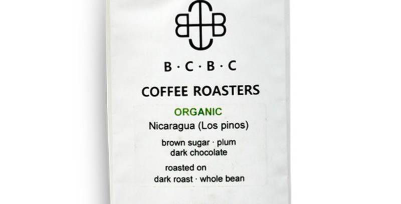 Organic Nicaragua Dark Roast 12 oz Bag