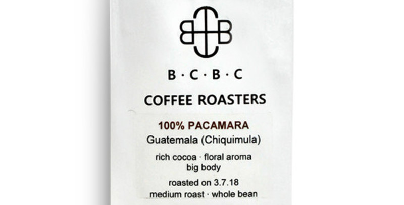 Guatemala 100% Pacamara Medium Roast 12 oz bag