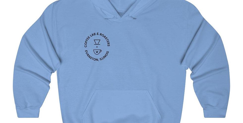 Coffee Lab Evanston Unisex Heavy Blend™ Hooded Sweatshirt